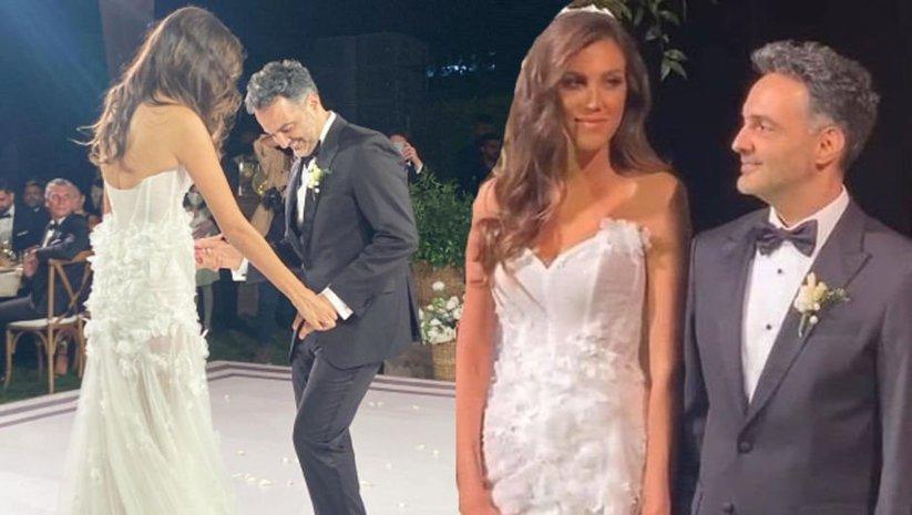 Melodi Elbirliler ile Arda Türkmen evlendi