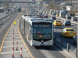 Metrobüsü ve E-5'i kullananlar dikkat