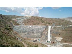 DSİ 8. Bölge Müdürü Yavuz, Turnaçayırı Barajında incelemede bulundu