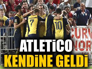 Atletico Madrid moral depoladı