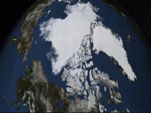 Kuzey Kutbu'nda korkutan tablo