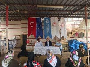 Kilis'te çiftçi okulu açıldı