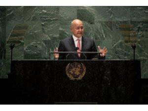 """Irak Cumhurbaşkanı Salih: """"Irak'ta istikrar sağlanmadan bölge istikrarının sağlanması mümkün değil"""""""