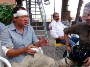 Suriye sınırındaki Kanal D ekibi kaza yaptı!