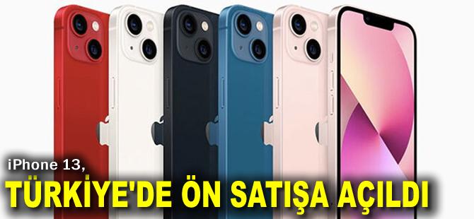 iPhone 13, Türkiye'de ön satışa açıldı! Fiyatları ne kadar?