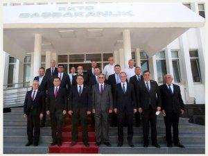 Başkan Örki, Kıbrıs'ta