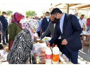 Başkan Serkan Acar, Hacıömerli'de mahalle sakinleriyle buluştu