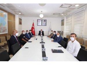 BEÜ'de güvenlik toplantısı