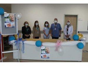 Bilecik Eğitim ve Araştırma Hastanesinde prostat kanseri için farkındalık standı açıldı