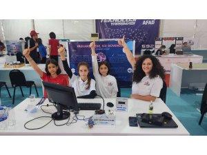 Ereğlili öğrenciler TEKNOFEST'te finallere kaldı