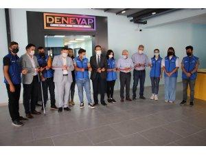 Aydın'da 'Deneyap Teknoloji Atölyesi'nin açılışı yapıldı