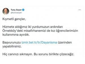 İzmir'de yurt ve dayanışma kampanyası için başvurular başladı