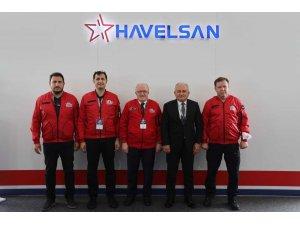 Rektör Aydın'dan HAVELSAN ile iş birliği mesajı