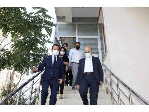 Mardin'de yurtlar hızla üniversite öğrencileri için hazırlanıyor