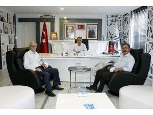Alevi Kültür Derneği Başkanı Tanrıverdi'den Başkan Kılınç'a ziyaret