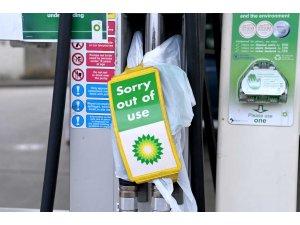 BP'nin akaryakıt istasyonlarının 3'te 1'inde yakıt tükendi