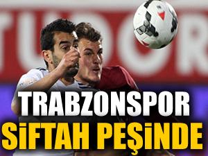 Trabzonspor siftah peşinde!
