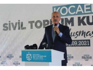 """AK Parti Genel Başkanvekili Kurtulmuş: """"Günümüzü gün ederek vakit geçirmemiz mümkün değildir"""""""