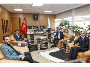 Milletvekili Aydemir'den Bölge Müdürü Yavuz'a hayırlı olsun ziyareti