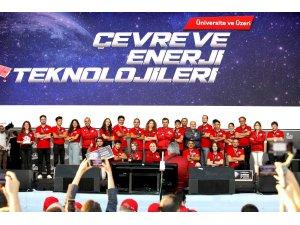 Teknofest 2021'de en çevreci projeler ödüllendirildi