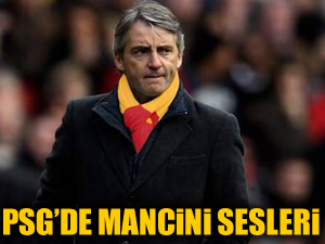 PSG'de Mancini sesleri
