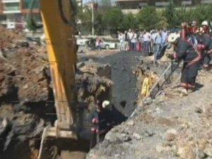 İSKİ çalışmasında göçük! 1 kişi hayatını kaybetti