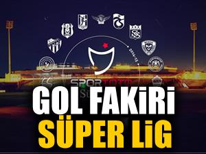 Gol fakiri Süper Lig!