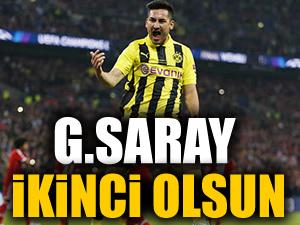 """""""Galatasaray ikinci olsun!"""""""