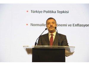 """TCMB Başkanı Kavcıoğlu: """"Merkez Bankası politika faizini aşağı çeken merkez bankaları arasında yer aldı"""""""
