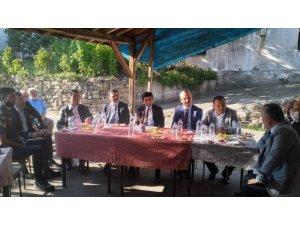 Kaymakam Coşgun köy ziyaretlerinde bulundu