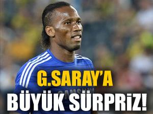 Drogba'dan Galatasaray'a büyük sürpriz