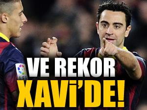 Ve rekor Xavi'de!