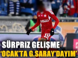 Sarki: 'Ocak'ta Galatasaray'dayım'