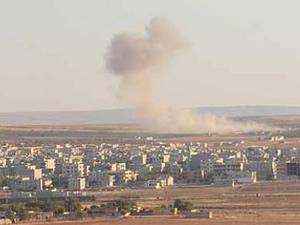 Kobani'de önemli gelişme: IŞİD'in ilerleyişi durdu