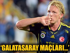 Kuyt, Galatasaray maçı öncesi görüşlerini dile getirdi