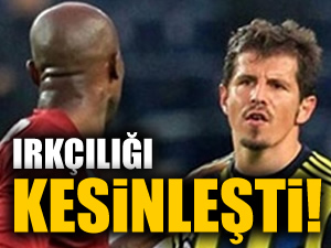 Emre Belözoğlu'nun ırkçılığı kesinleşti!