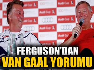 Ferguson'dan Van Gaal yorumu!