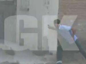 Diyarbakır'daki çatışmanın görüntüleri