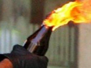TEM otoyolunu molotofla ateşe verdiler!