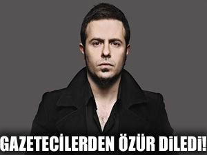 Emre Aydın'dan gazetecilere özür!