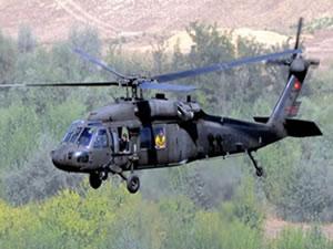Askeri helikopter radardan kayboldu