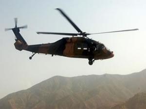 Askeri helikopterin enkazına ulaşıldı! 4 şehit!