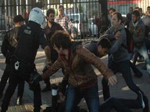 Üniversitede kavga:26 kişi gözaltına alındı!