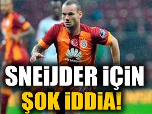 Sneijder için iki şok iddia