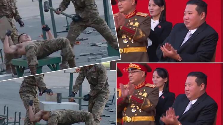 'Yenilmez ordu kuracağım' demişti... 'Kim'in askerleri' şov yaptı!