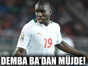 Demba Ba müjdesi!