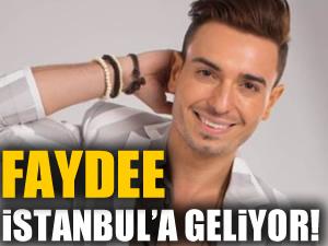Dünyaca ünlü şarkıcı 'Faydee' İstanbul'a geliyor
