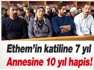 Katile 7 aileye 10 yıl hapis!