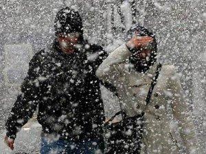 Meteoroloji'den 4 ile kar uyarısı!