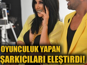 Hande Yener oyunculuk yapan şarkıcıları eleştirdi